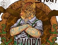Beer Label - American Stout - Cervejaria Évora