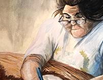 Grandma Williams Portrait