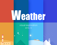 Weather-Visual exploration