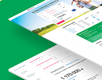 Attracting deposits with landing page