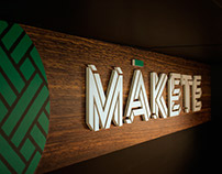 Mākete - Retail branding and signage design