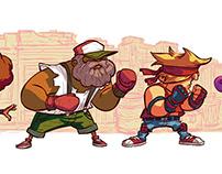 Beat 'em up Characters