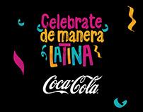 Celebrate de manera Latina · Coca-Cola ·