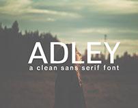 Free Adley Sans Serif Font