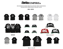 Battles clothing 2014/2015