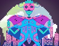 Spacedust - Pixel Game Art