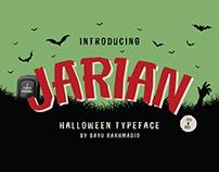 JARIAN : Halloween Tyoeface