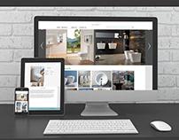 Logo and web design for company Zandini , UI / UX