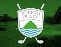 Brand identity Puerto Plata golf club
