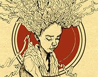 Hair Girl Concept