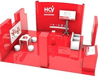 HCV - Visualization of the exhibition stand.