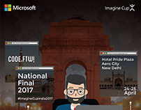 Imagine Cup Finals - Event Poster