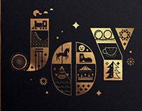 Lagoon Christmas Card