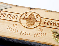 POTENT FARMS | Branding & Identity, Graphic Design