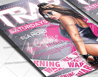Trap Flyer - PSD Template