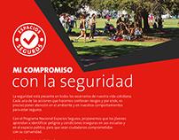 Afiche Espacios Seguros (Holcim Argentina)