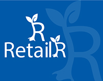 """R"" RETAILR LOGO & BUSINESS CARD"