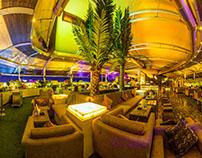Opa!  Bar & Cafe, Mumbai (panoramic interiors)