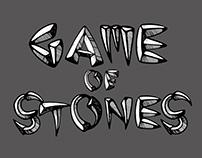 Game of Stones - Typeface Design