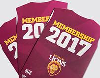 Print - 2017 Membership Campaign Brochure