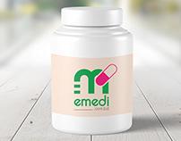 Logo for eMedi.com.bd