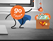 The goCash : the character illustration