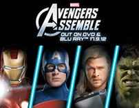 Avengers Assemble Flash Banner
