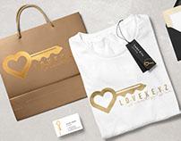 LoveKeyz Logo & Concept