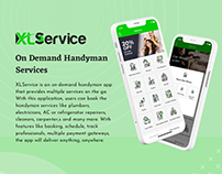 XLService   On Demand Handyman App