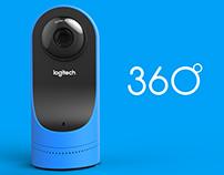 360° Webcam concept