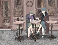 Pastelería Camelia Ilustraciones