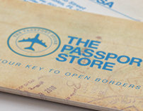 The Passport Store Business Cards