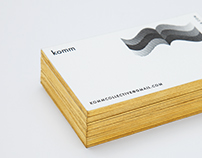 KOMMCOLLECTIVE  BUSINESS CARDS #1