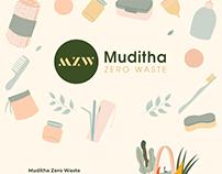 Muditha Zero Waste - Branding