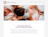 Site Abraço Materno