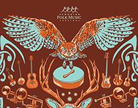 Edmonton Folk Music Festival Poster
