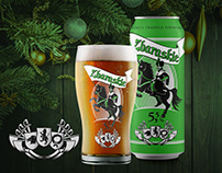 """Kniaź"" - beer brand design"
