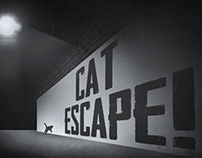 My Cat From Hell - Film Noir Title Cards