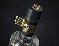 vodka FORTUNA premium gold