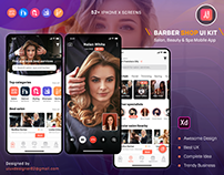 Barber & Salon UI KIT