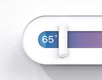 slide thermostat