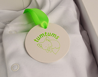 Children's clothing rebrand 'tumtums'