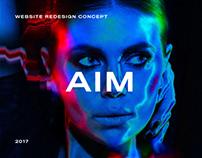 AIM. Redesign Concept