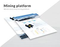 Mining platform