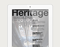 Heritage Magazine — iPad edition