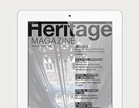 Heritage Magazine — iPad edition