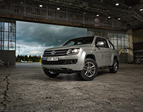 Volkswagen airport campaign images