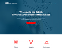 Talent, Rewards and Performance App Marketplace Concept