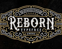 Reborn Typeface with Awesome Extras