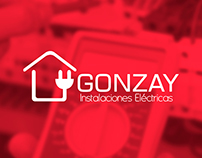 Gonzay: Instalaciones eléctricas.